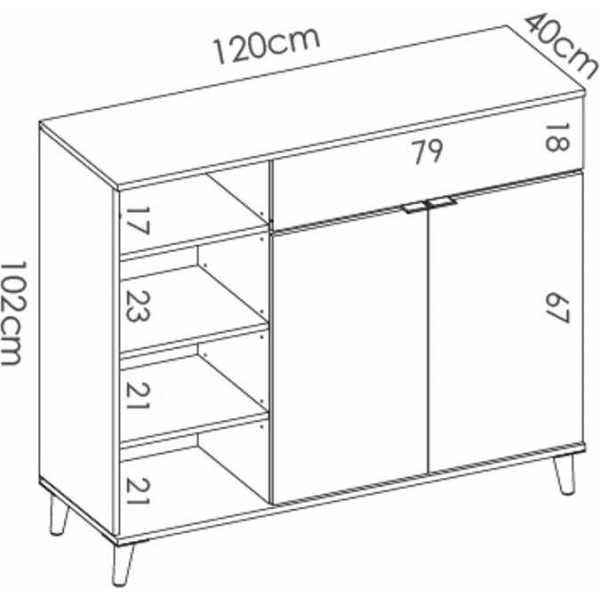 mueble auxiliar aparador