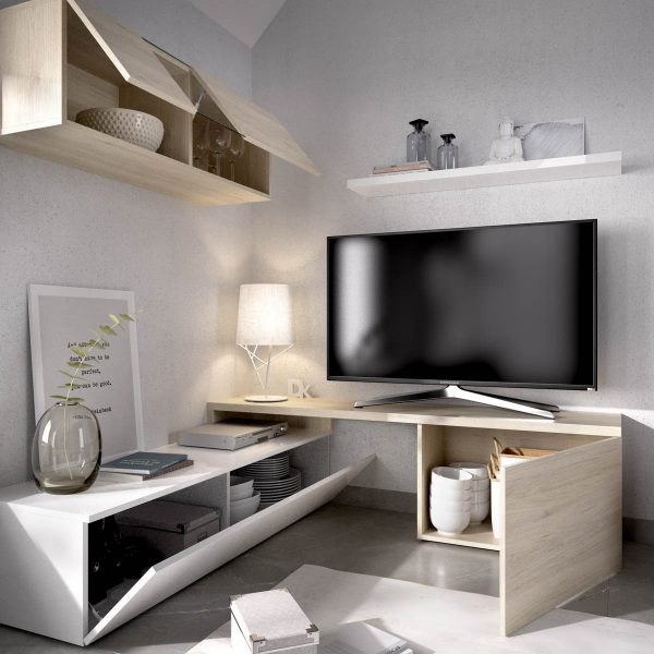 mueble comedor tv compacto 4