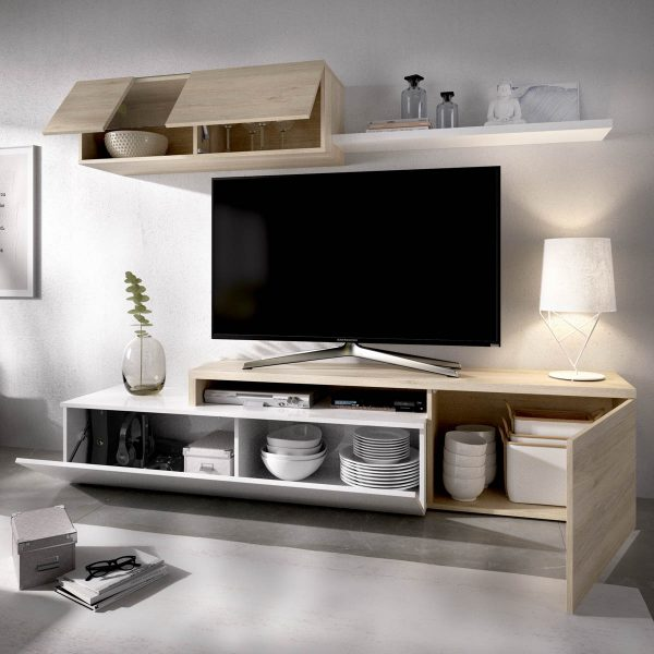 mueble comedor tv compacto