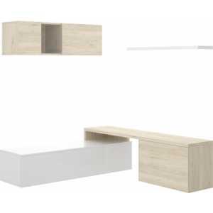 mueble comedor tv compacto 9