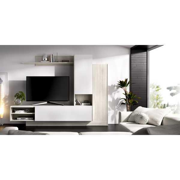 mueble de comedor salon tv compacto 3