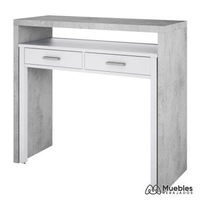 mueble de entrada barato y escritorio 0l4582a