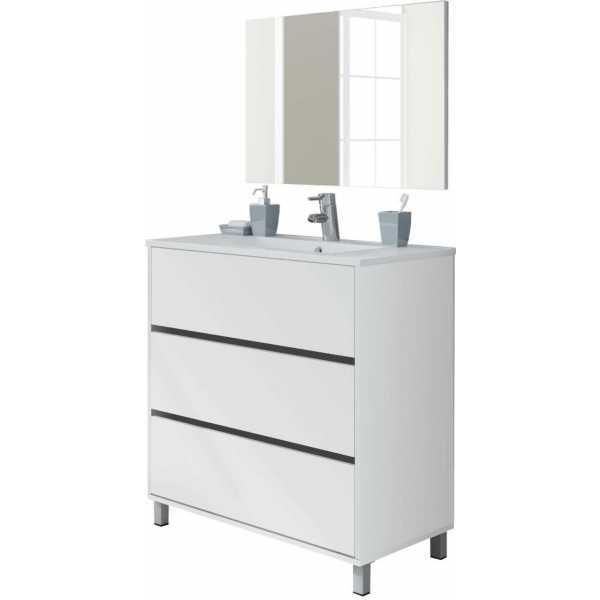 mueble de lavabo 3 cajones