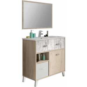 mueble de lavabo madera