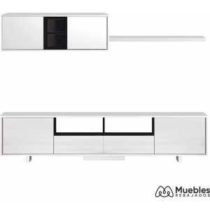 mueble de salon blanco 0t6682bo