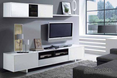 Mueble de salón blanco moderno 0t6682bo