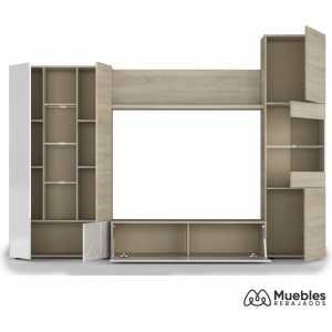 Mueble de salón moderno roble 016642f
