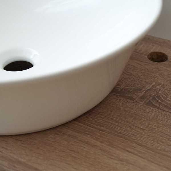 mueble lavabo pila blanca