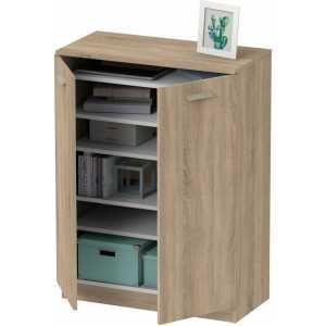 mueble multiusos madera