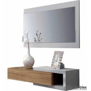 Mueble para entrada de casa con espejo 0n6743a