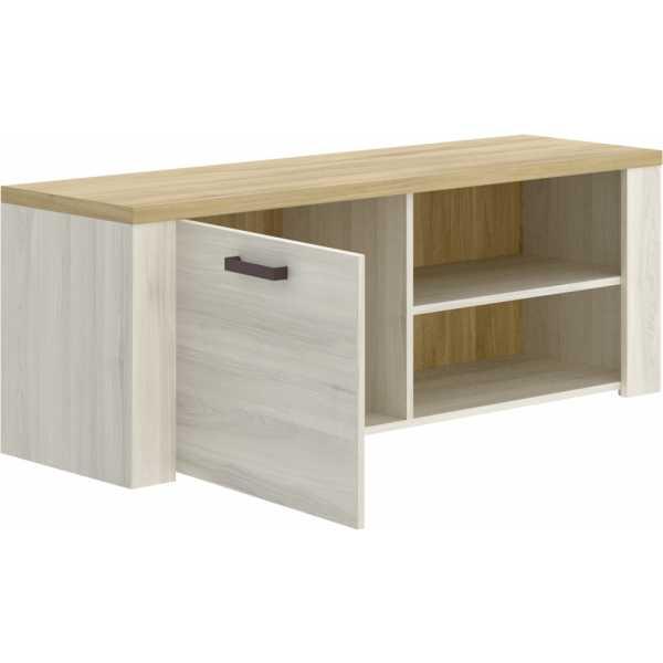 mueble tv 130 cm de 1 puerta milan 2