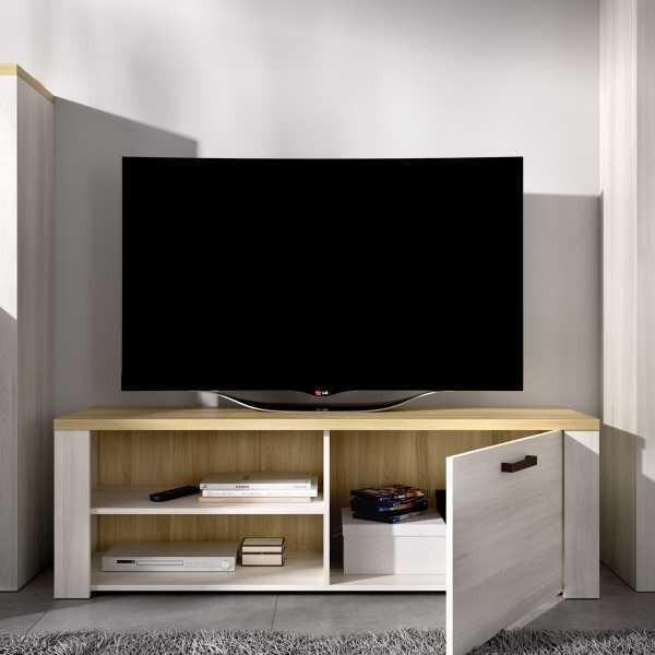 mueble tv 130 cm de 1 puerta milan 3