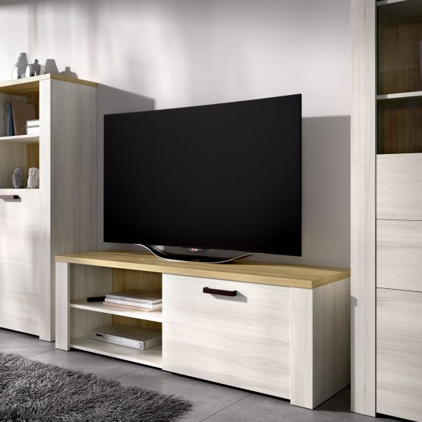 mueble tv 130 cm de 1 puerta milan 4
