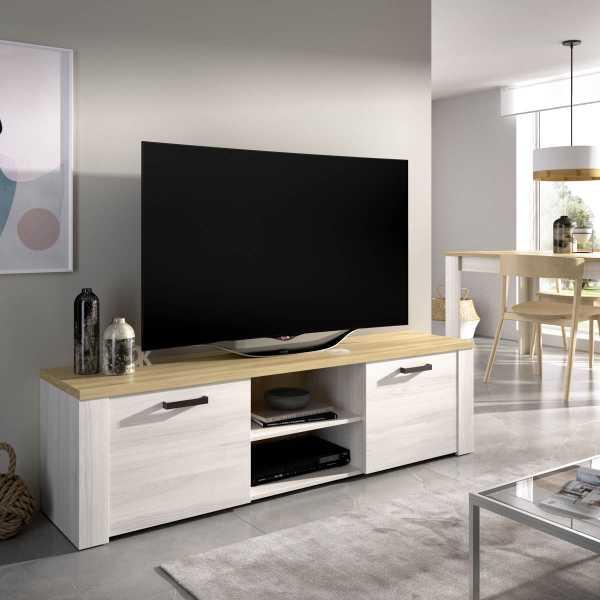 mueble tv 180 cm de 2 puertas milan 3