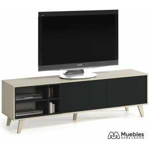 mueble tv estilo nordico moderno 0z6635r