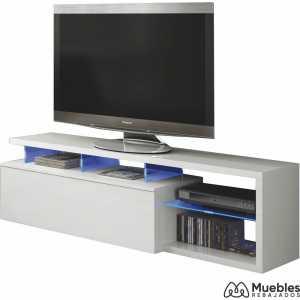 mueble tv led 150 cm 026630bo
