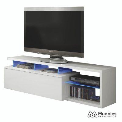 Mueble tv con led 026630bo