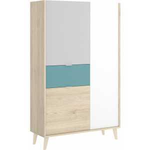 mueble vertical de 2 puertas y 1 cajon neo 5
