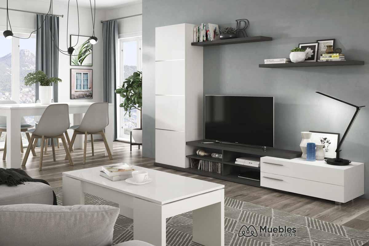 Muebles comedor blancos 016669G-001637BO-004586BO