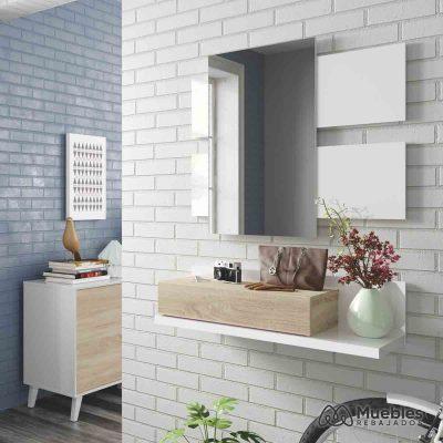 Muebles entrada y recibidores con espejo 0f6742a