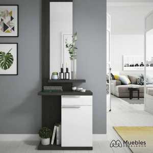muebles recibidor con espejo 016746g