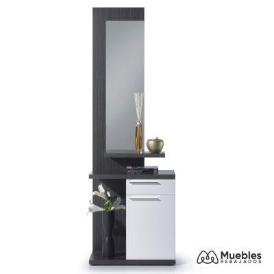 Mueble recibidor con espejo 016746g
