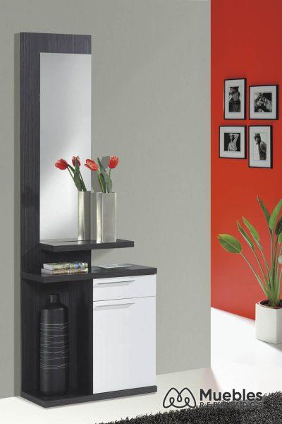 muebles recibidor con espejo grande 016746g