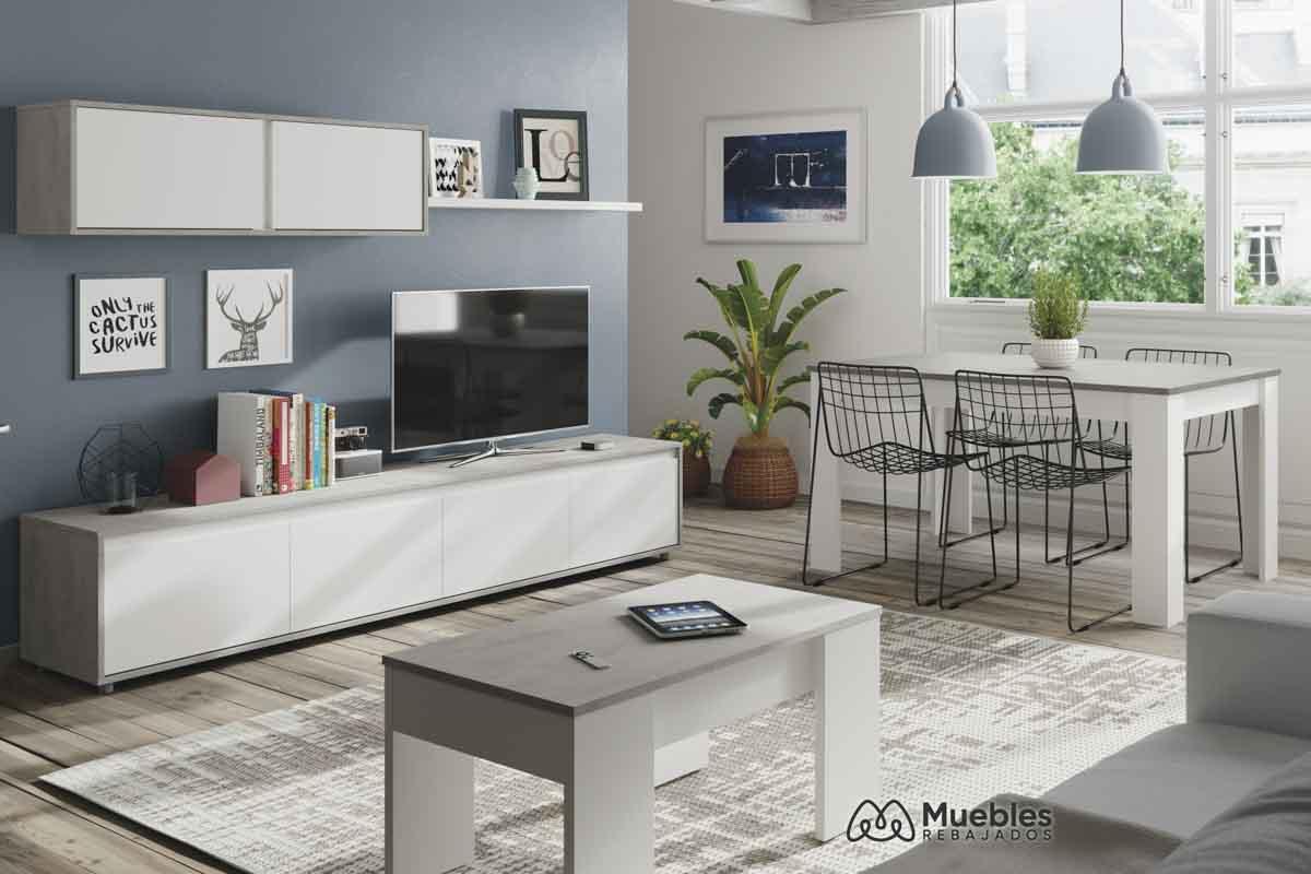 Muebles salón 016663L-0L1640A-0L4586A