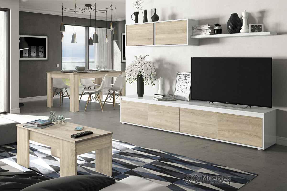 Muebles salón madera 0F6663A-004586F-001637F