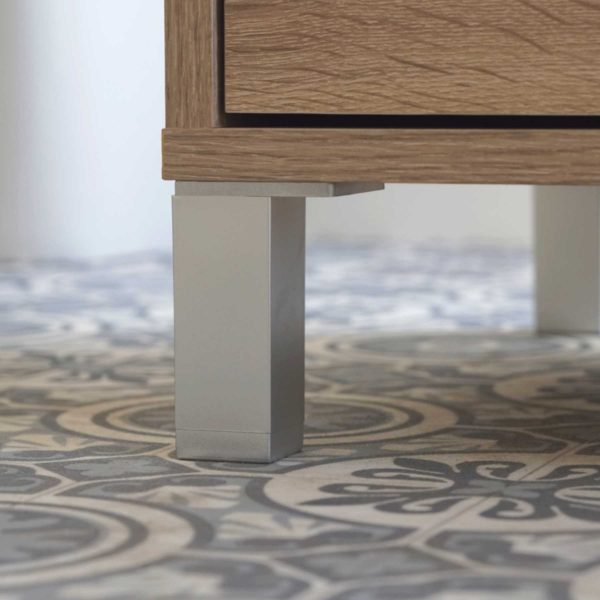 pata mueble lavabo roble