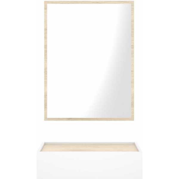 recibidor con cajon y espejo 5