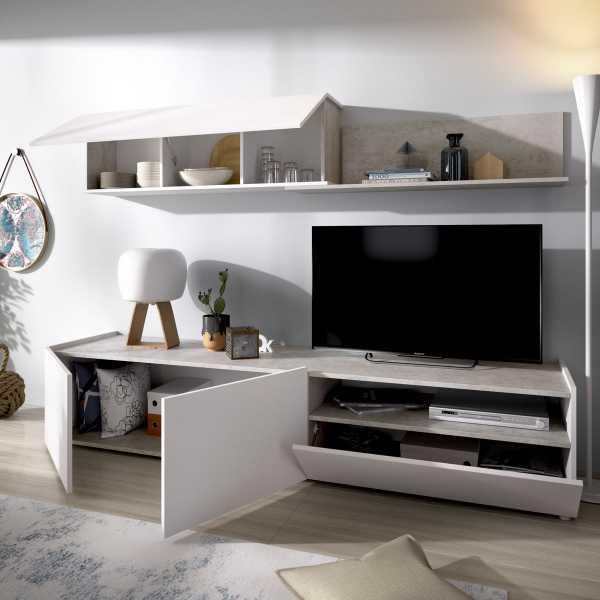 salon tv cemento 6