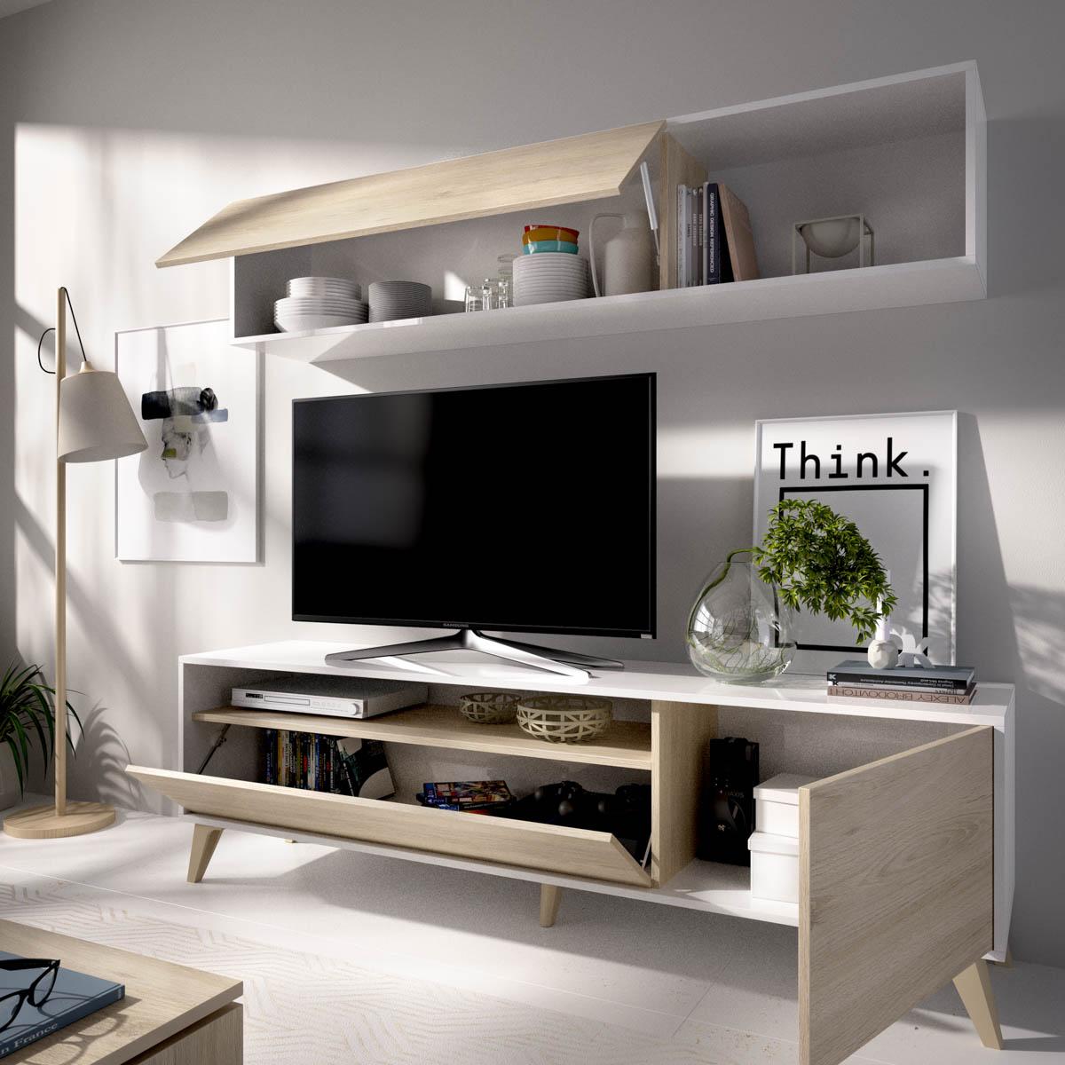 salon tv compacto