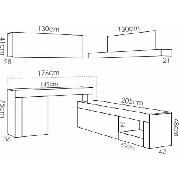 salon tv modular 11