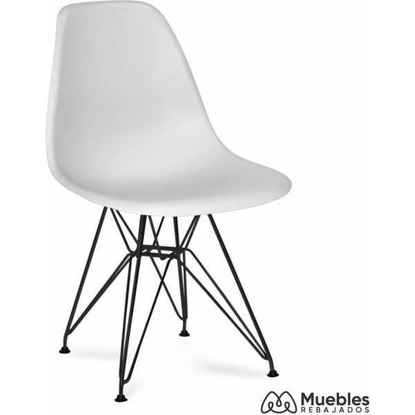 silla blanca eames tower dalmau