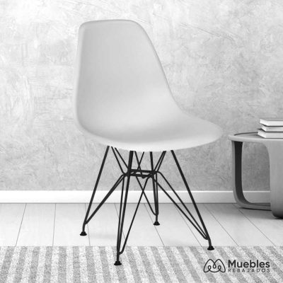 silla comedor barata blanca