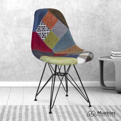 silla comedor barata tapizada