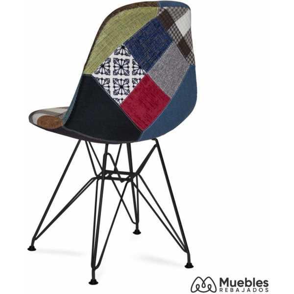 silla eames estampado