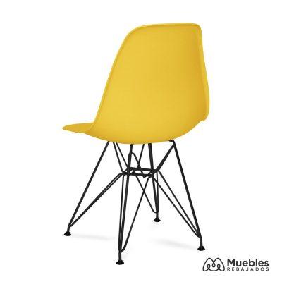 silla salon amarillo eames