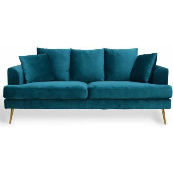 sofa 3 plazas terciopelo 4