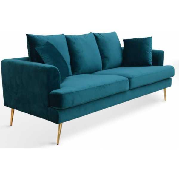 sofa 3 plazas terciopelo