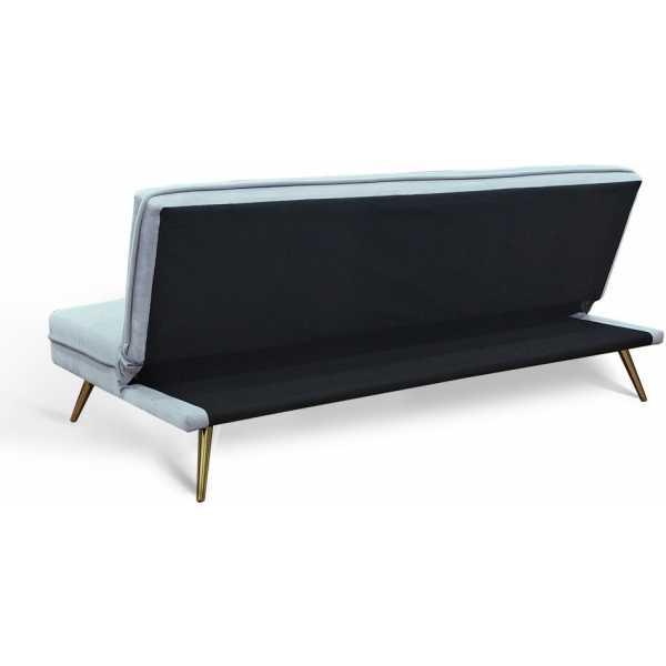 Sofa cama 3 plazas gris claro