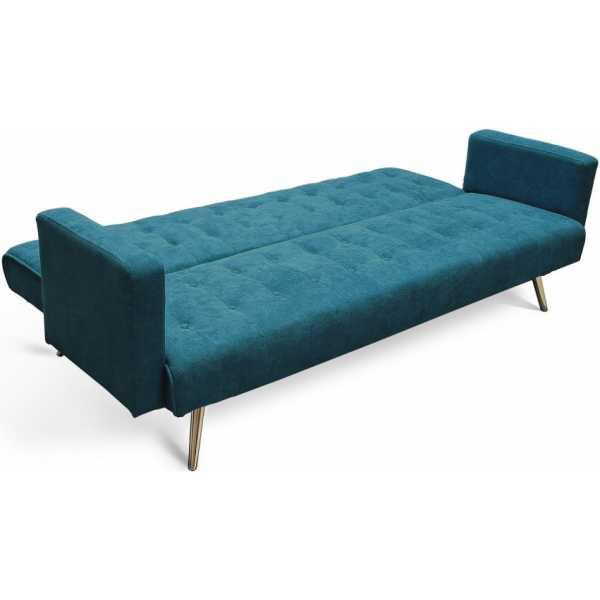 sofa cama azul 3 plazas 2