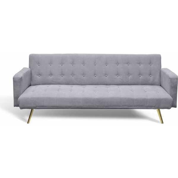 sofa cama gris 3 plazas 1
