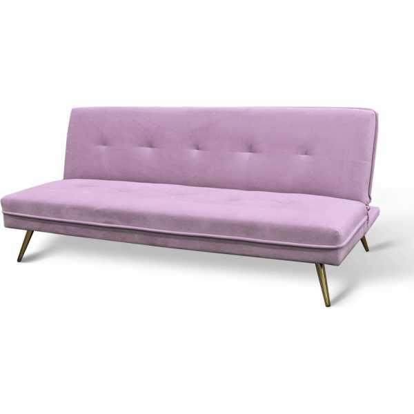 sofa cama rosa 3 plazas 2