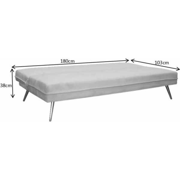 sofa cama rosa 3 plazas 3