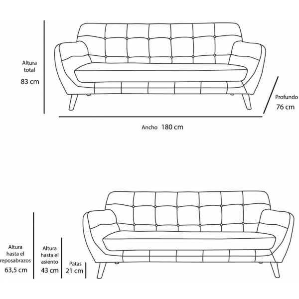 sofa nordico vintage arena 1