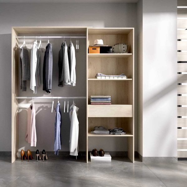 vestidor con 1 cajon 1