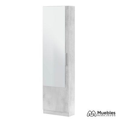 zapatero mueble con espejo moderno 007864l